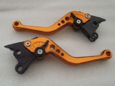 Ducati 996/998/B/S/R (99-03), CNC levers short copper/black adjusters, DB80/DC80